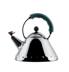 Alessi Whistling Bird Kettle by Michael Graves