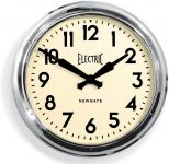 Newgate 50s Electric Wall Clock