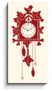 Newgate Hello Cuckoo Wall Clock